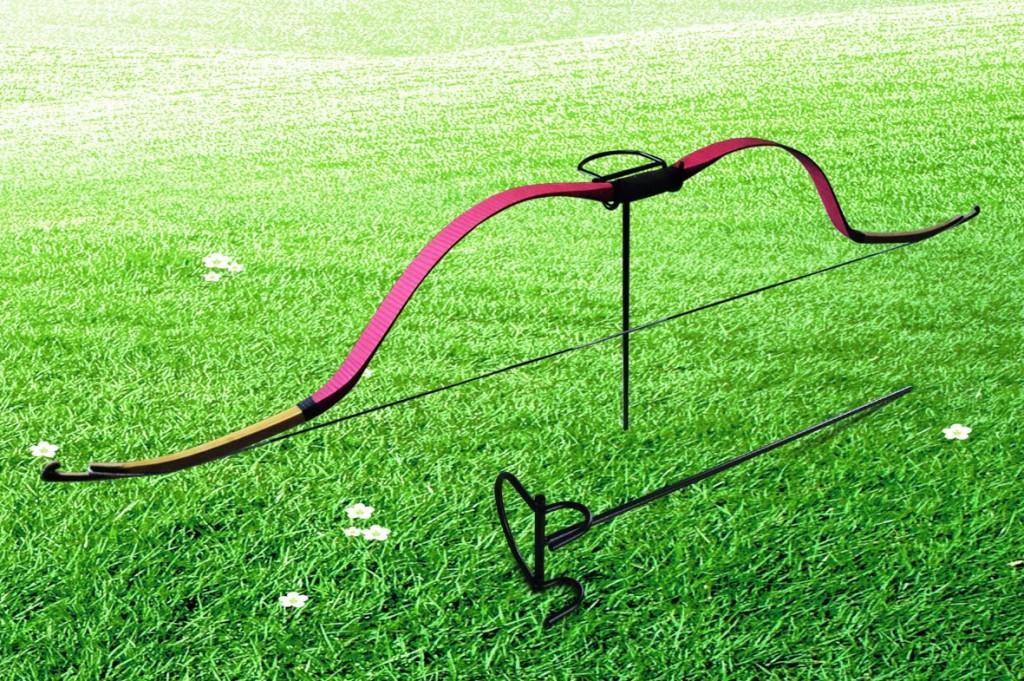 户外弓架/野外射箭承弓器